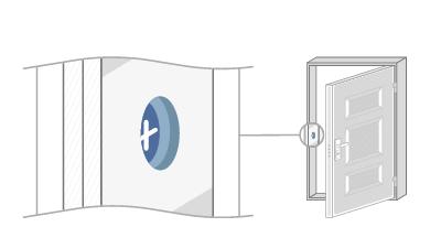 Коробка входной двери