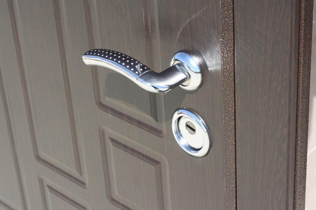 Внешний вид металлической двери