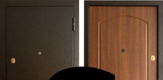 Металлическая дверь со знаком ГОСТ
