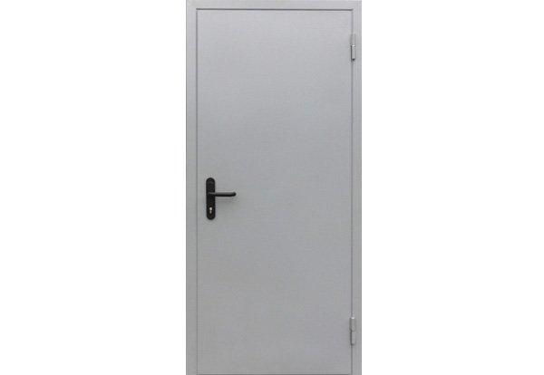 Временная дверь из металла