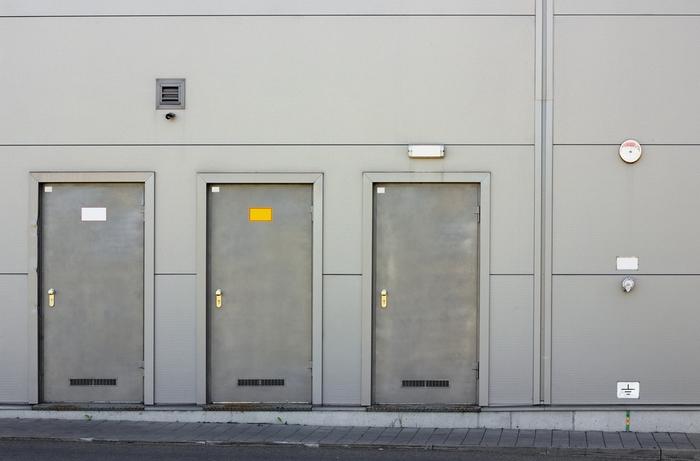 Наружные технические двери