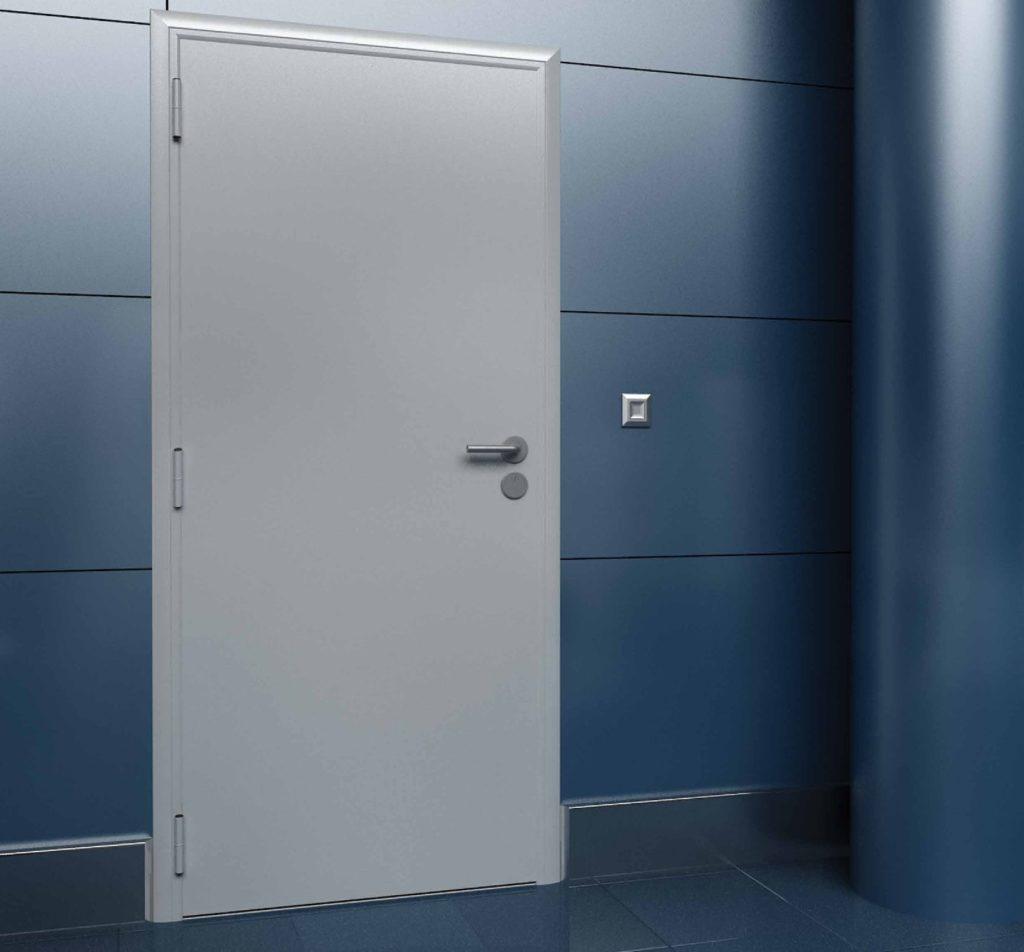 Внутренняя техническая дверь