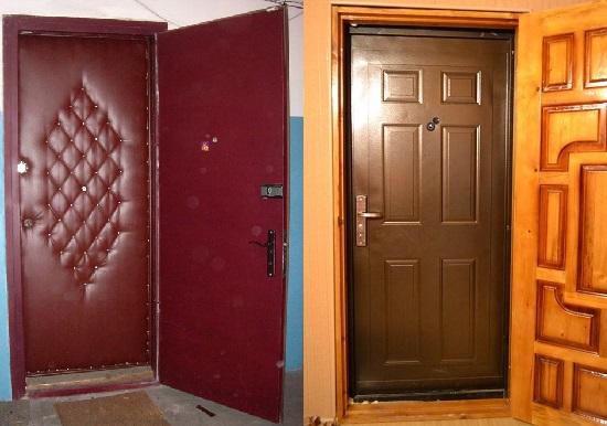 Примеры двойной входной двери