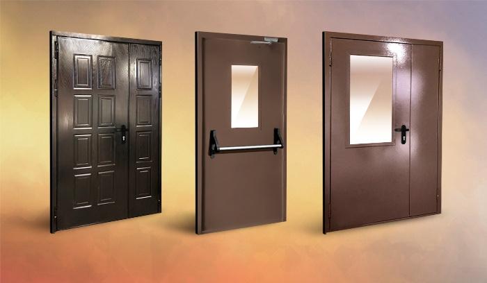 Модели огнестойких дверей