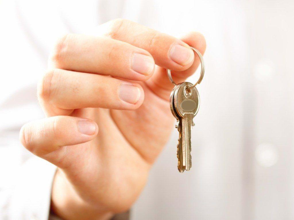 Ключ входной двери
