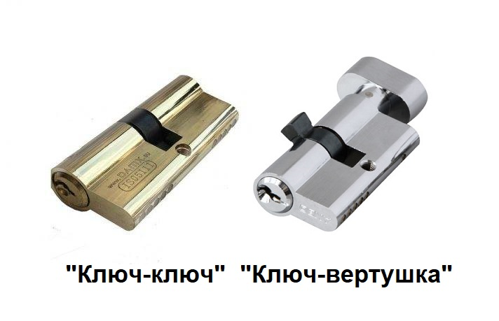 """Ключ-ключ"" и ""ключ-вертушка"""