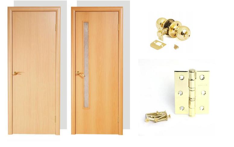 Комплект поставки двери