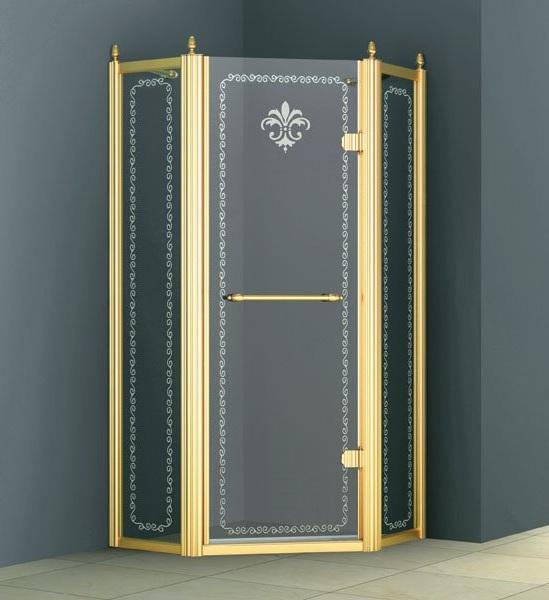 Распашная душевая дверь фирмы Цезарис