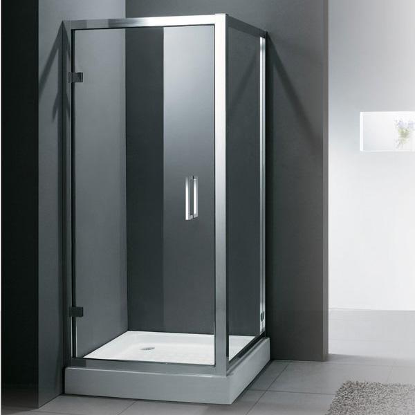 Дверь в душ с каркасом