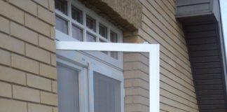 Противомаскитная сетка на балконе
