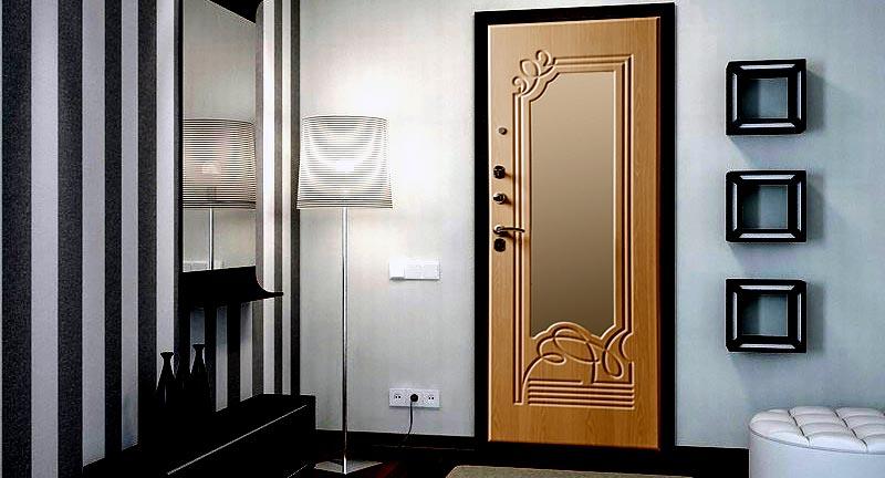 Двери с шумоизоляцией в интерьере