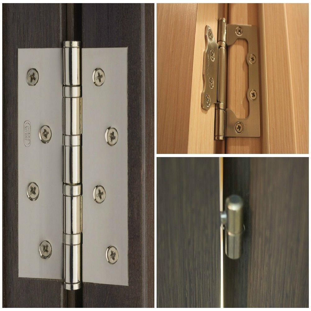 Виды петель для межкомнатных дверей