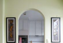 Арочный проем на кухню