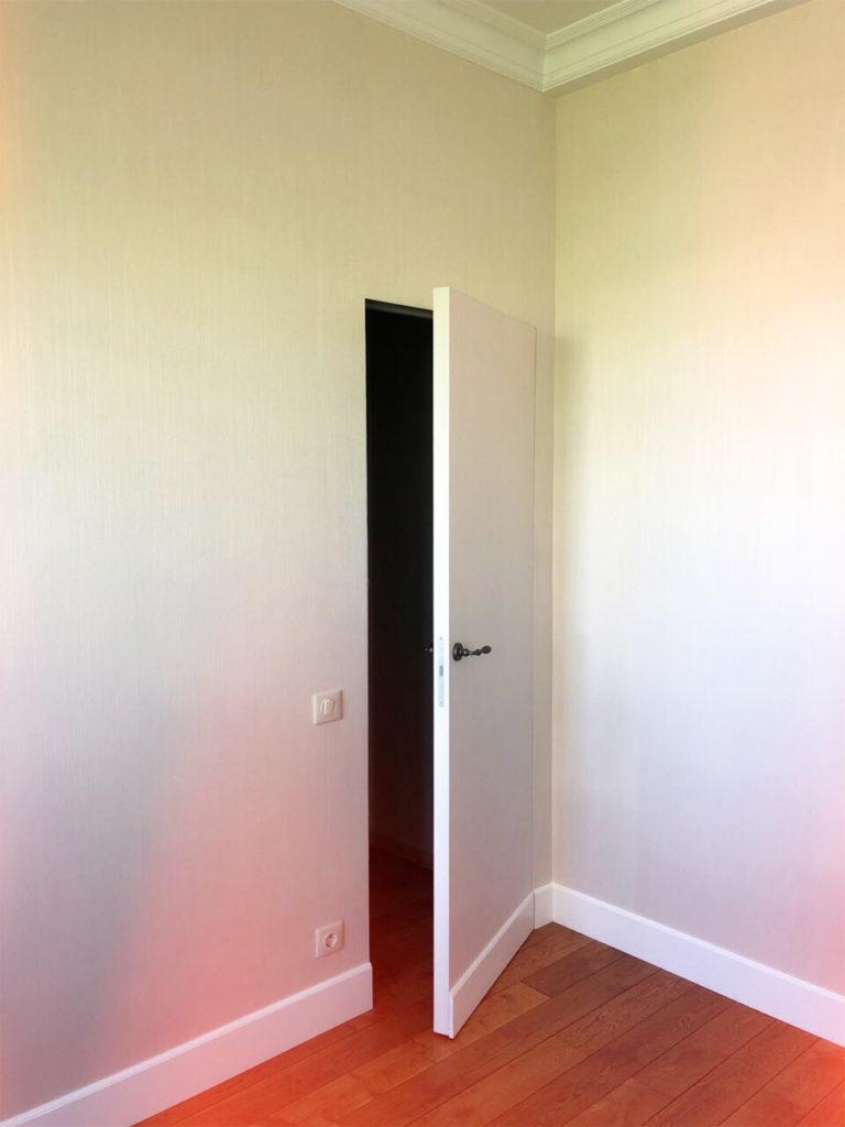 Дверь со скрытой коробкой