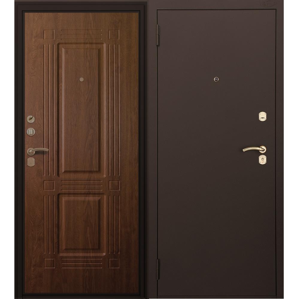 Вариант отделки двери с терморазрывом