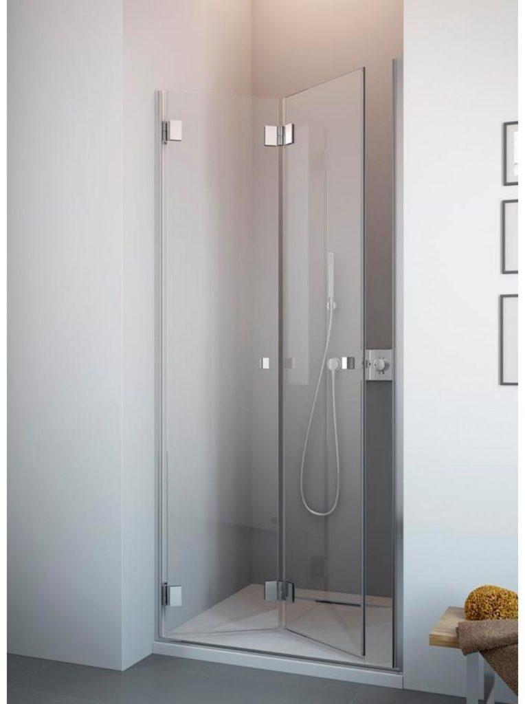Складная душевая дверь
