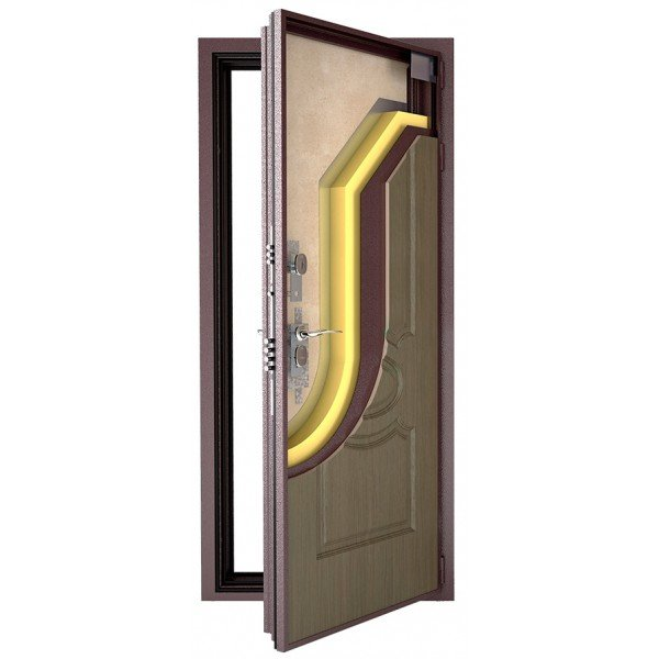 Дверь из металла с терморазрывом