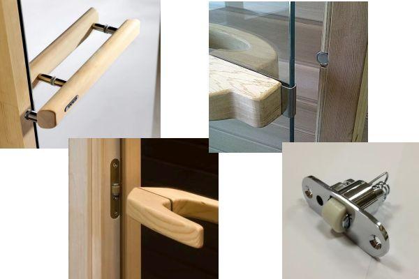 Фурнитура дверей для саун
