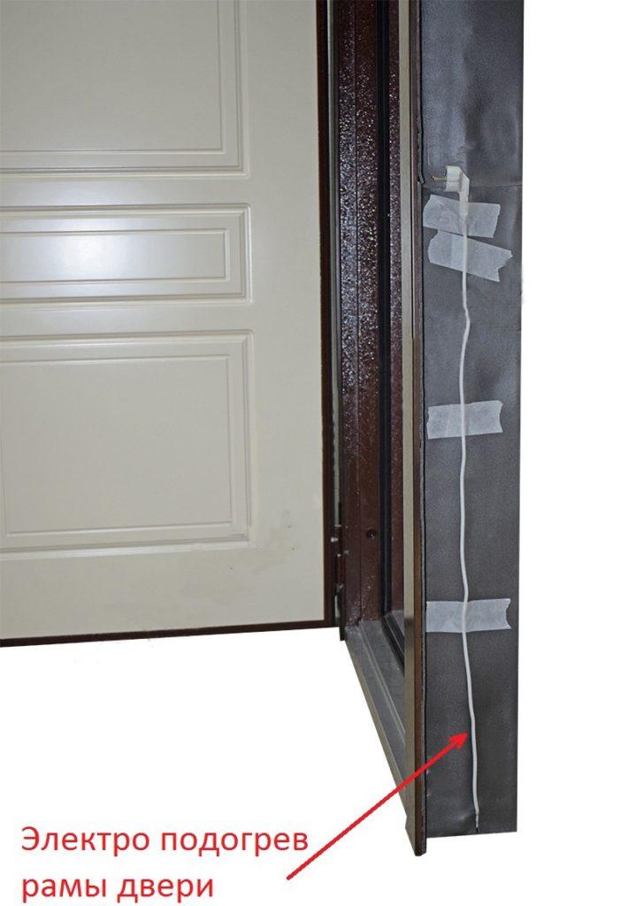 Входная дверь с подогревом