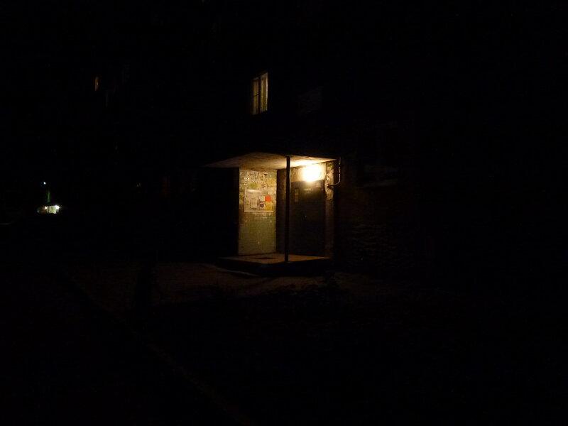 Подъезд ночью