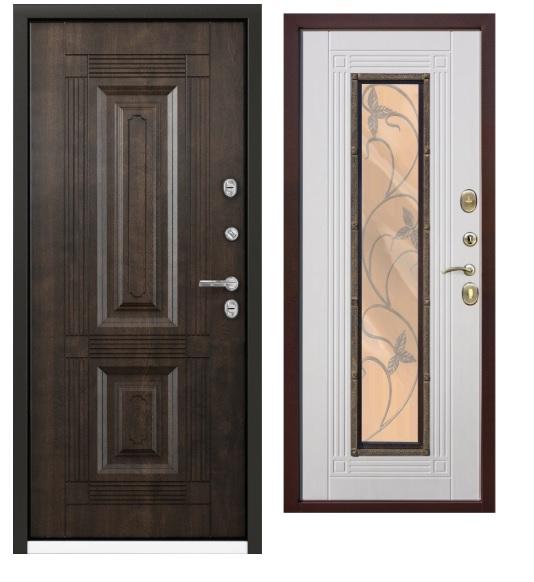 Входные двери с различной отделкой
