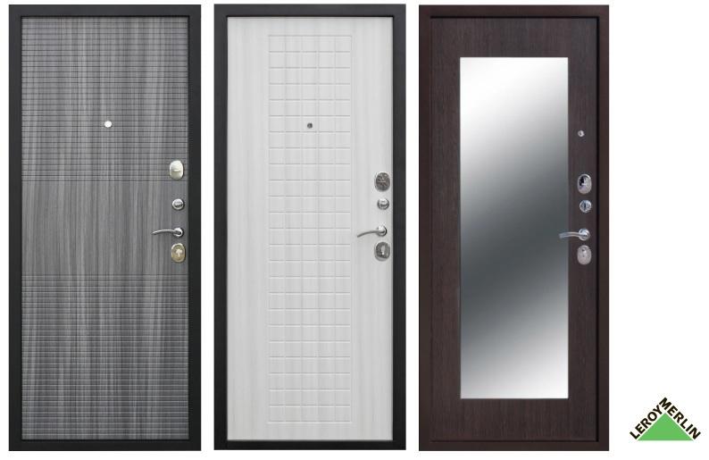 Входные двери в Леруа