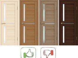 Преимущества и недостатки экошпонированных дверей