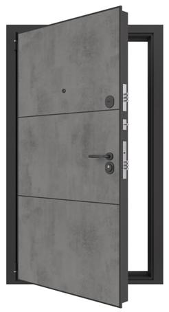 Входная дверь из железа в стиле Лофт