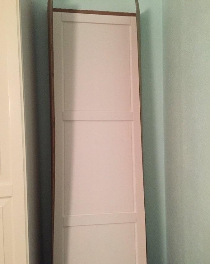 Глухая дверь Икеа