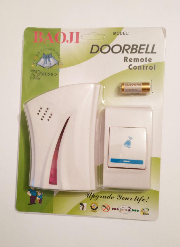 Комплект беспроводного звонка на дверь