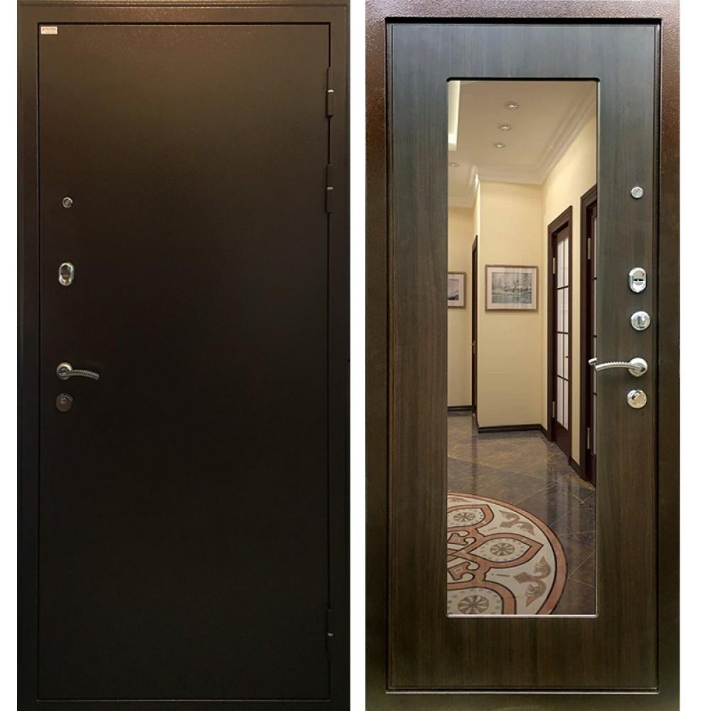 Металлическая дверь с ламинированным покрытием изнутри