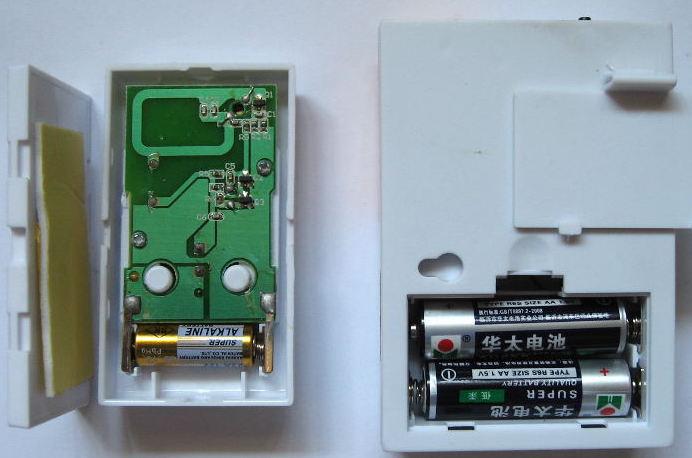 Батарейки в беспроводном звонке