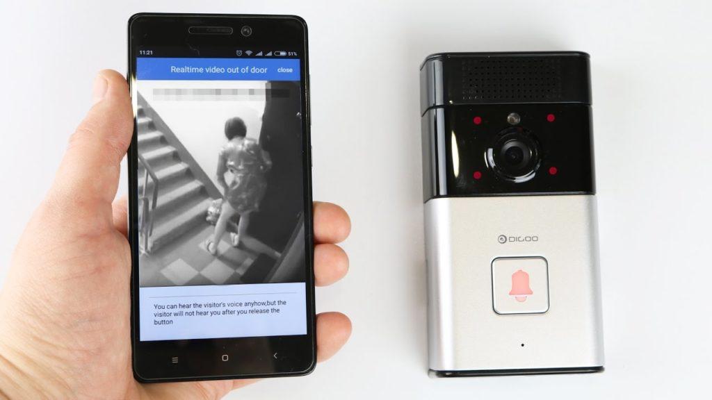 Звонок с передачей изображения на телефон