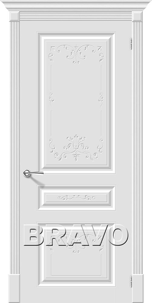 Дверь браво эмаль