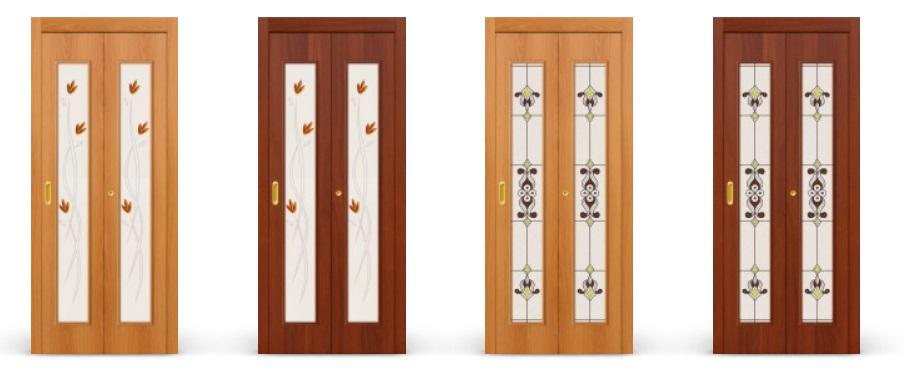 Складные модели дверей Браво