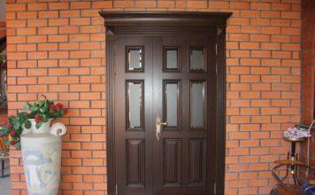 Двупольная дверь