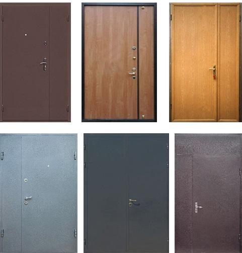 Варианты отделки тамбурных дверей
