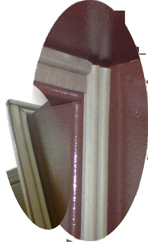 Уплотнитель на входной двери