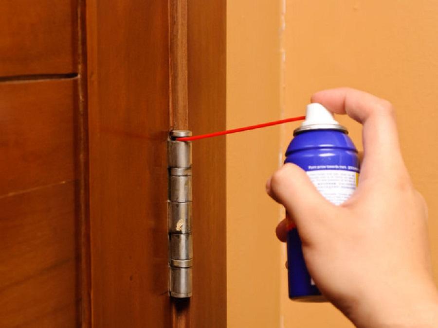 Устранение скрипа дверей