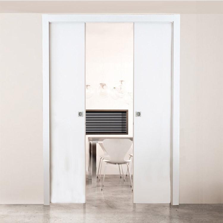 Двухстворчатая дверь-пенал