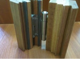 Петли для деревянной двери