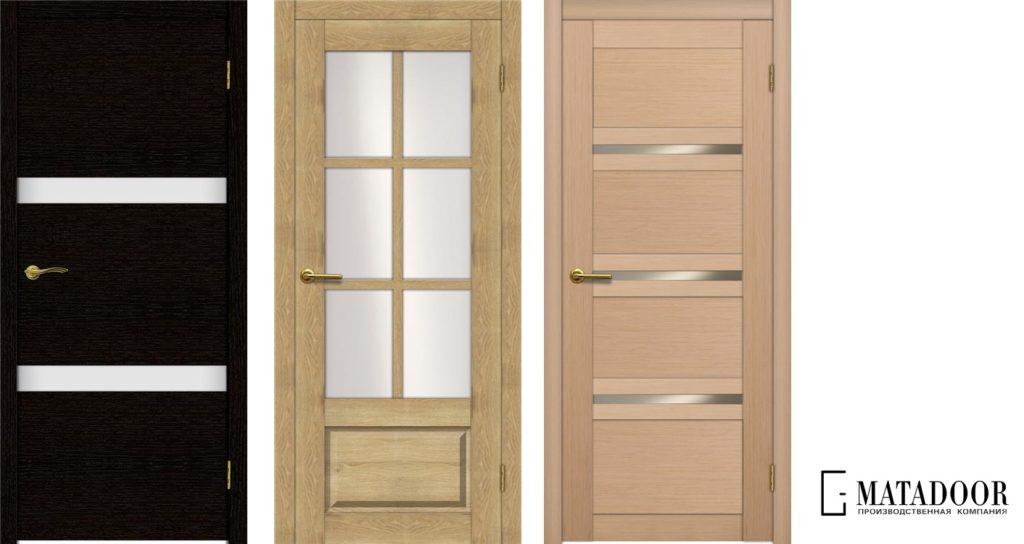 Модели дверей компании Matador