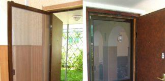 Дверная сетка от насекомых