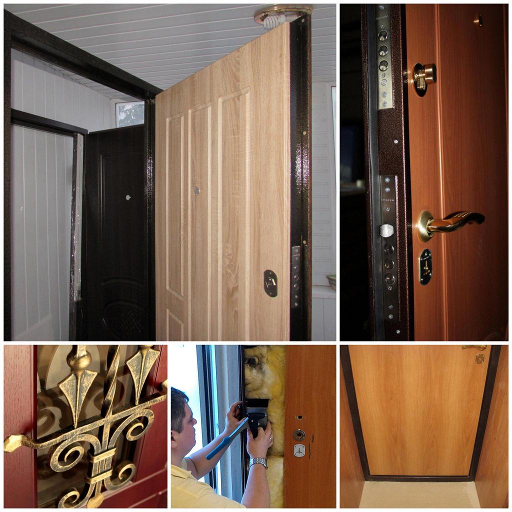 Декор входных дверей
