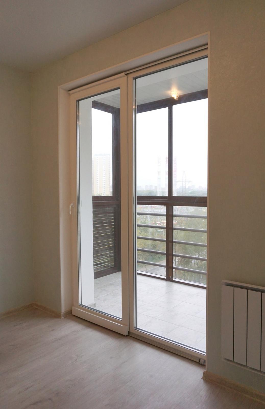 французские окна в квартире на балкон фото оно