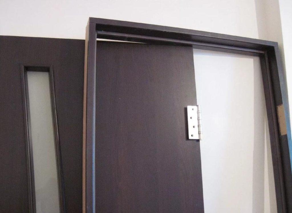 Дверь и короб