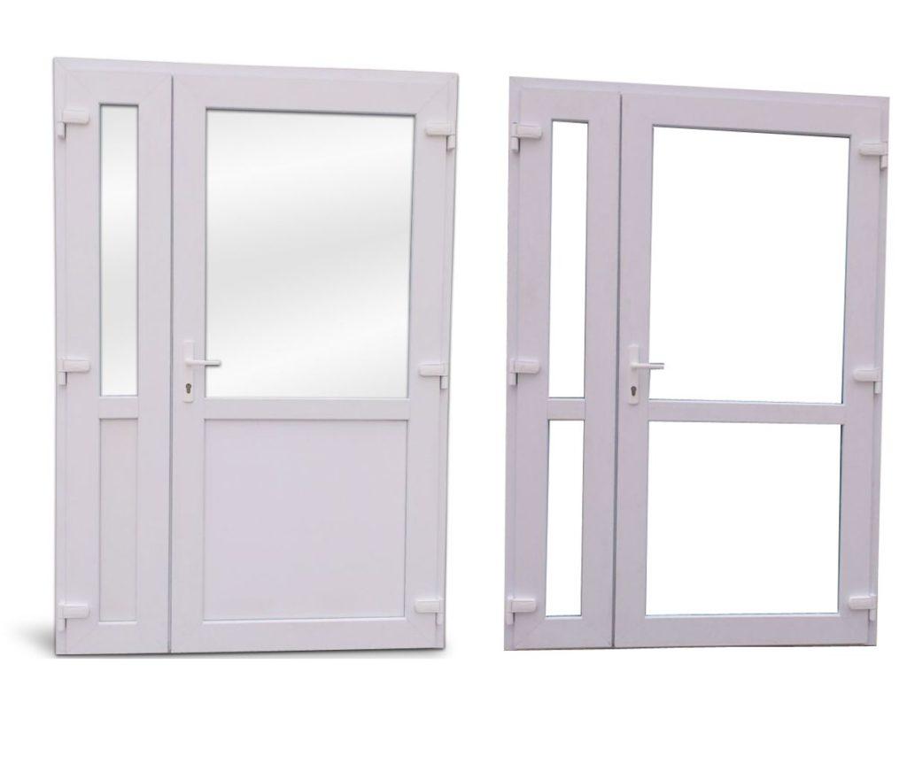 Дверные конструкции из пластика