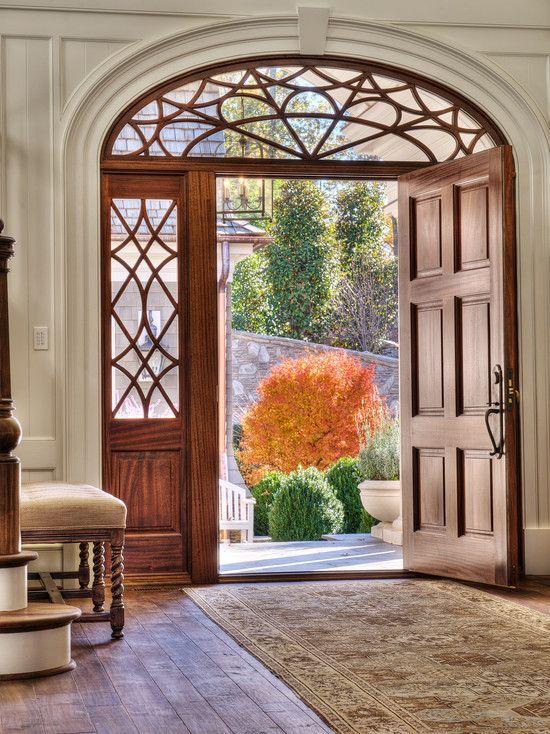 Вариант двери с фрамугой