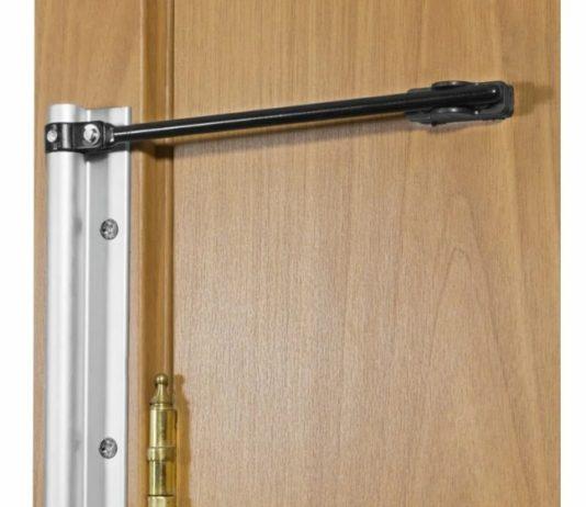 Доводчик для дверей внутри помещений