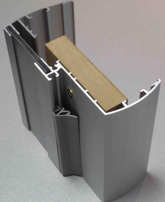 Коробка алюминиевой двери